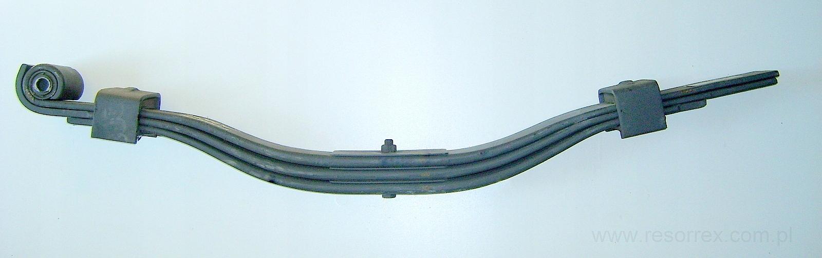 листовая 3 рессора к прицепа anhanger
