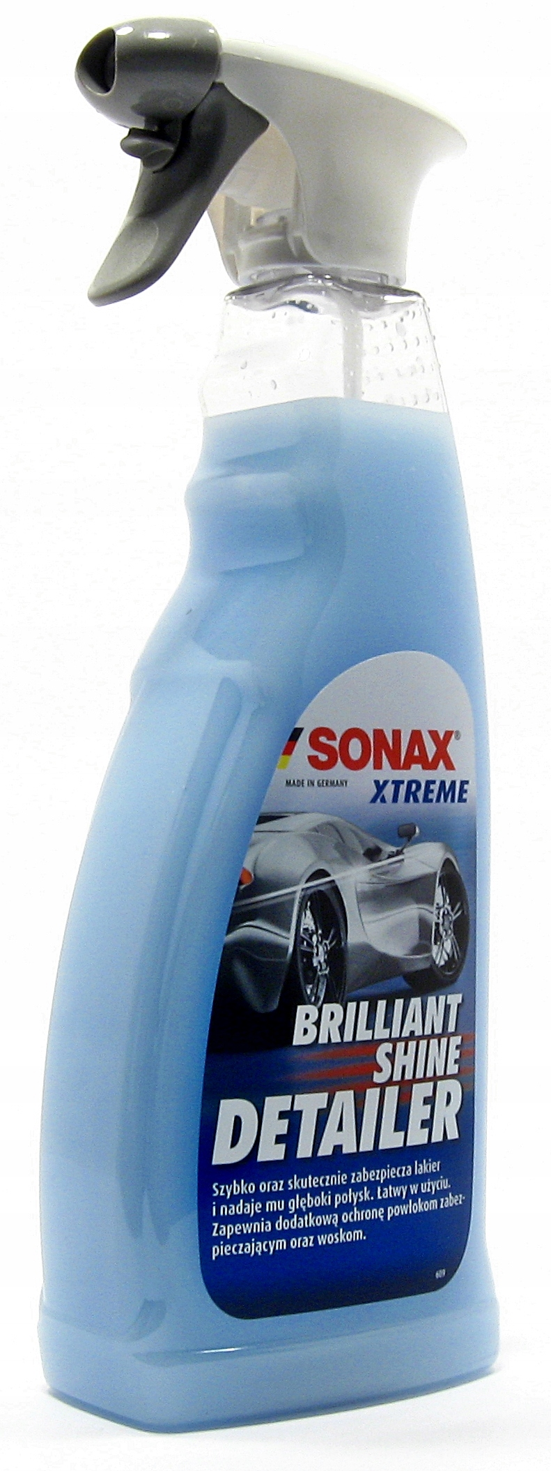 SONAX Xtreme Brillant Shine - быстрый воск на мокро