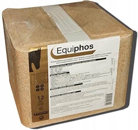 Lizawka Mineralna Calsea EQUIPHOS dla konia 12 kg