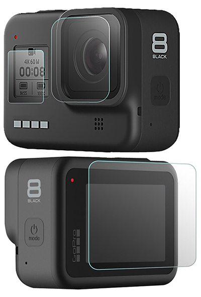 Osłona na Obiektyw LCD i Ekran GoPro Hero 8 Black