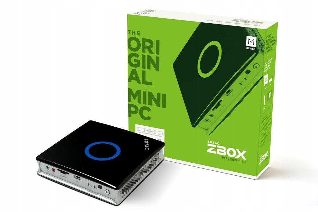 Купить МИНИ-ПК ZOTAC ZBOX MI551 i5-6400T INTEL HD-630 4K на Otpravka - цены и фото - доставка из Польши и стран Европы в Украину.