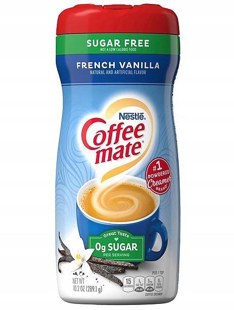 Сливки Coffee Mate Vanilla Sugar Free 296г США