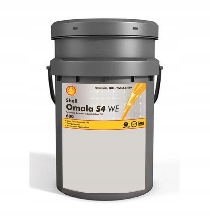 Shell Omala S4 WE 680 20л