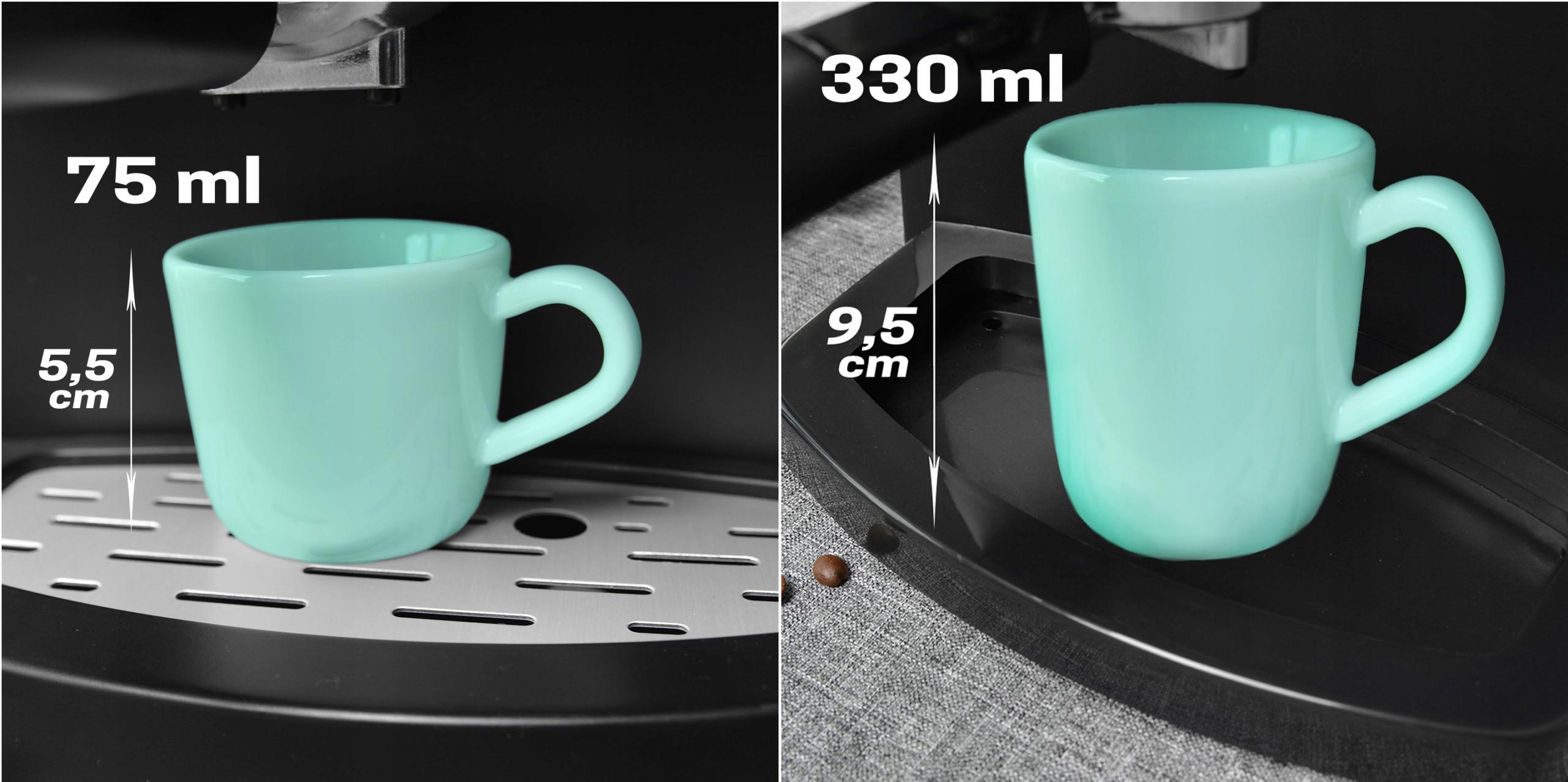 Кофемашина под давлением 15 БАР капучино 850 Вт Высота продукта 31 см