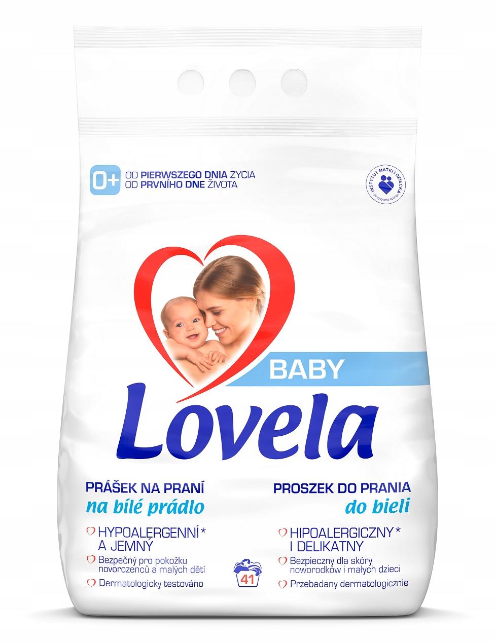 Купить Детская присыпка для стирки Lovela BABY White 4.1 кг на Otpravka - цены и фото - доставка из Польши и стран Европы в Украину.