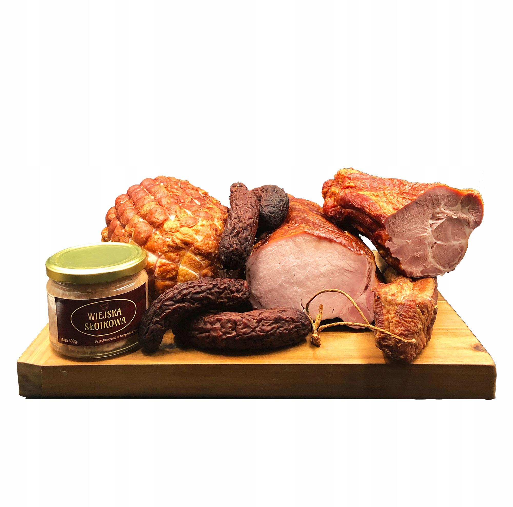 Небольшая упаковка мясного ассорти 3,5 кг - Прямо из Масарнии