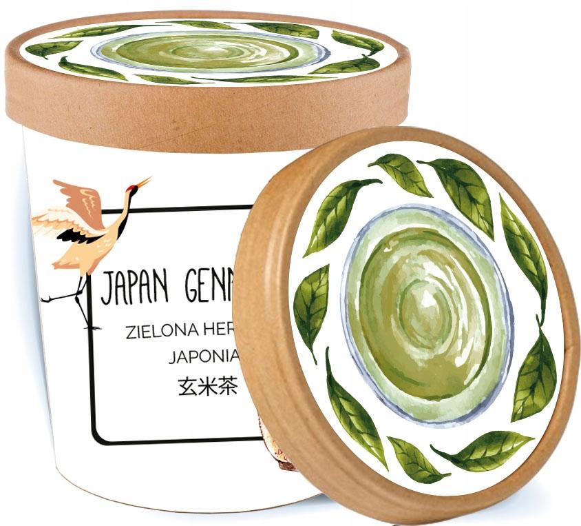 Japan Genmaicha хороший зеленый чай в ПОДАРОК