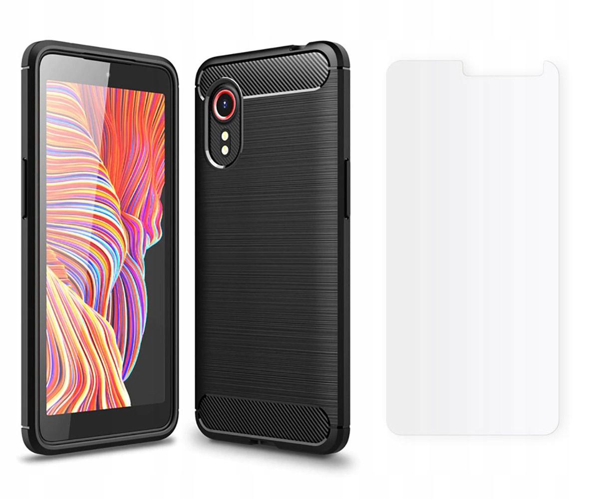 Etui Tpucarbon + Szkło do Samsung Galaxy Xcover 5