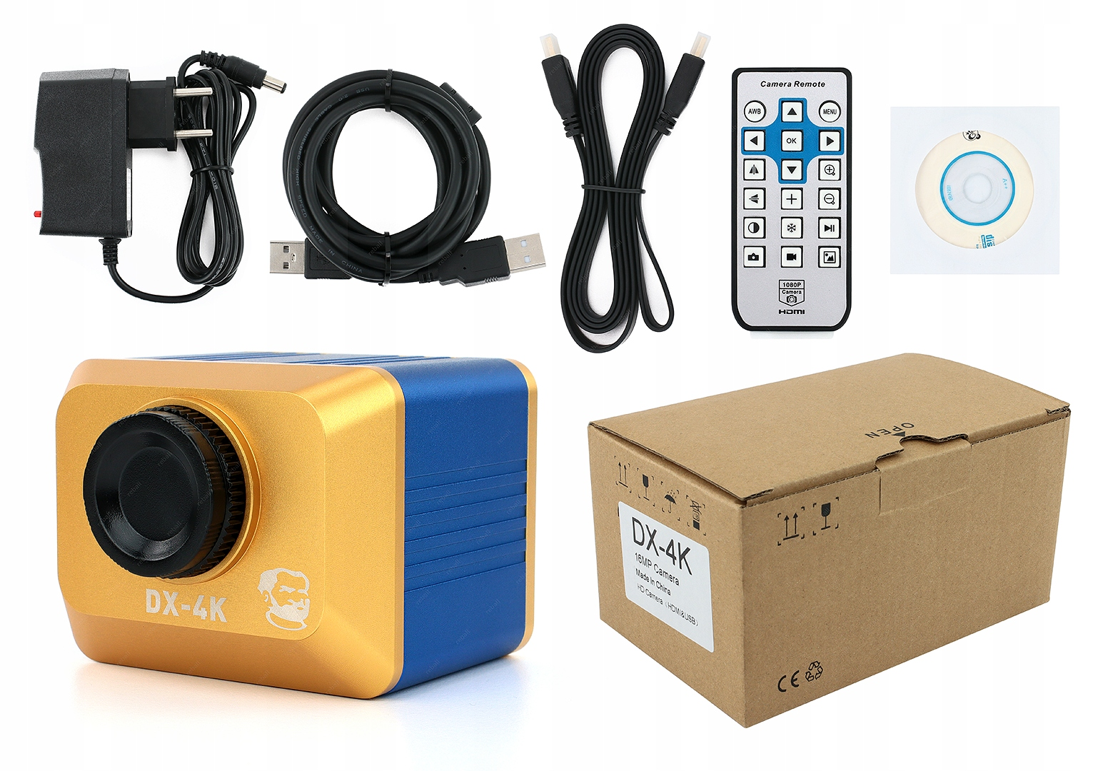 Cyfrowa Kamera Do Mikroskopów 4K Mechanic DX-4K