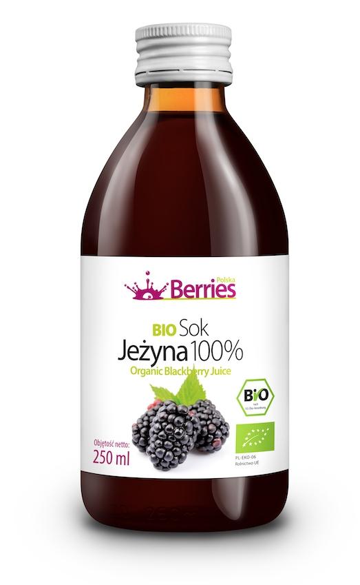 Sok BIO Jeżyna 100% ekologiczny sok z jeżyny 250ml