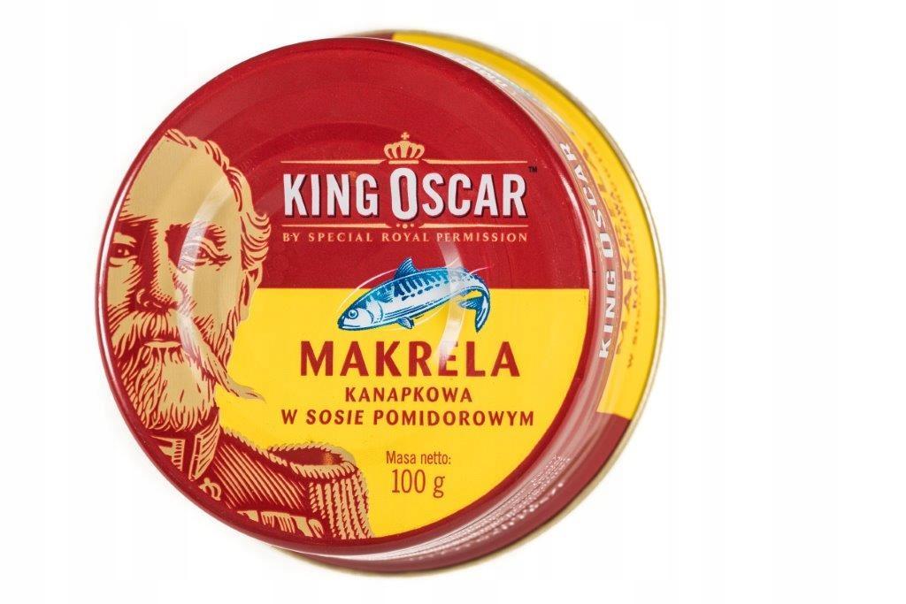 Item PD Makrela Kanapkowa 100g King Oscar