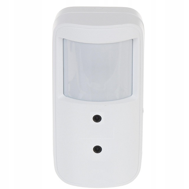 Ukryta mini kamera mikrofon czujka 2Mpx HDTVI AHD Typ kamery kolorowa czarno-biała