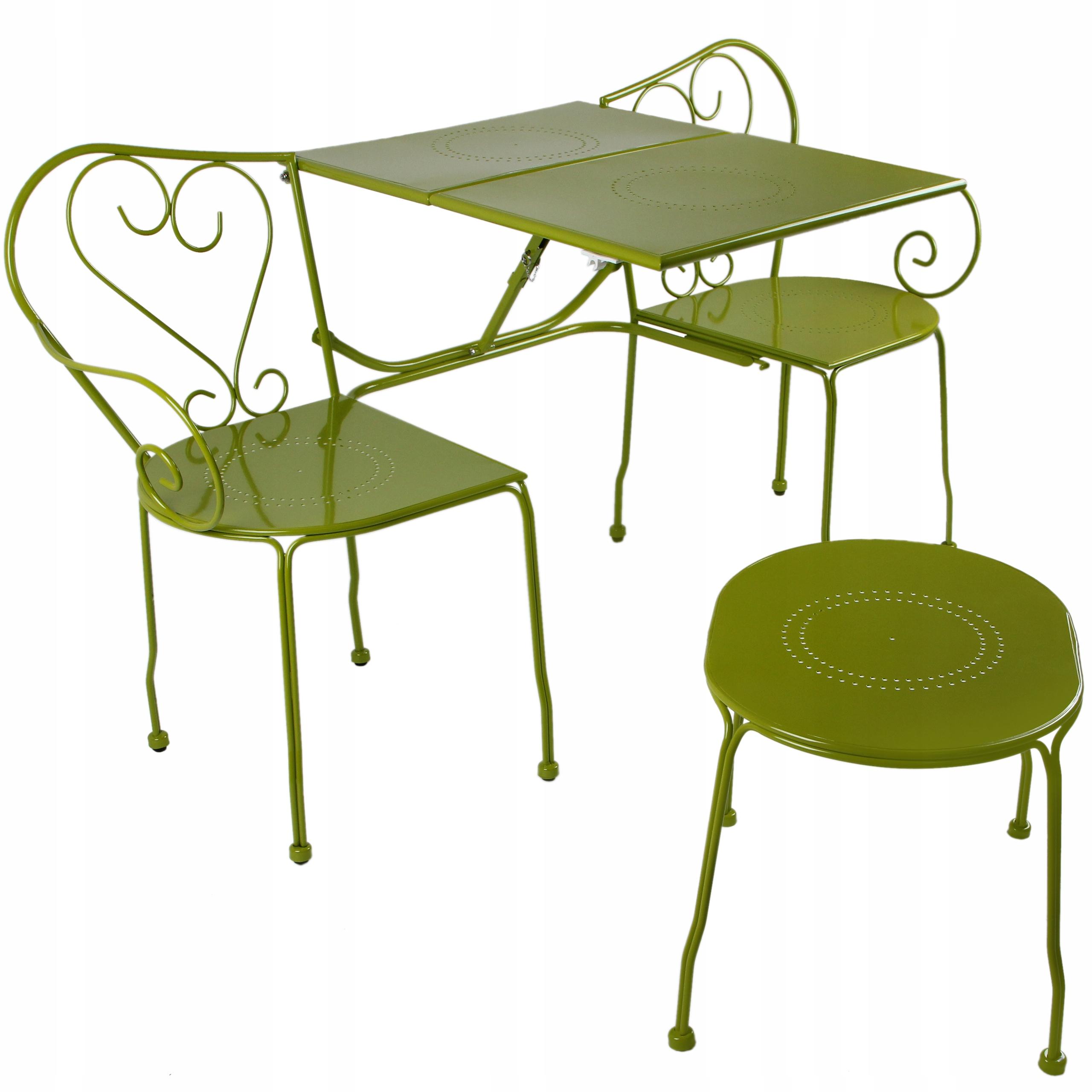 Balkónový záhradný nábytok Sada Lavica Konferenčný stolík Sada obsahu stolička nízka stolík