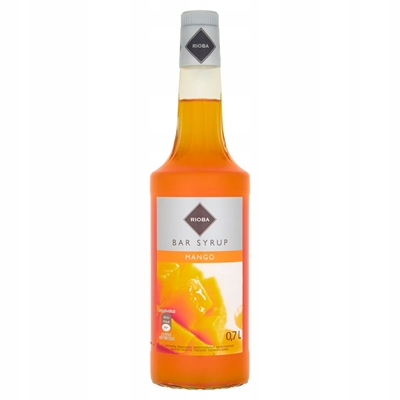 Syrop barmański Rioba do drinków 0.7l MANGO
