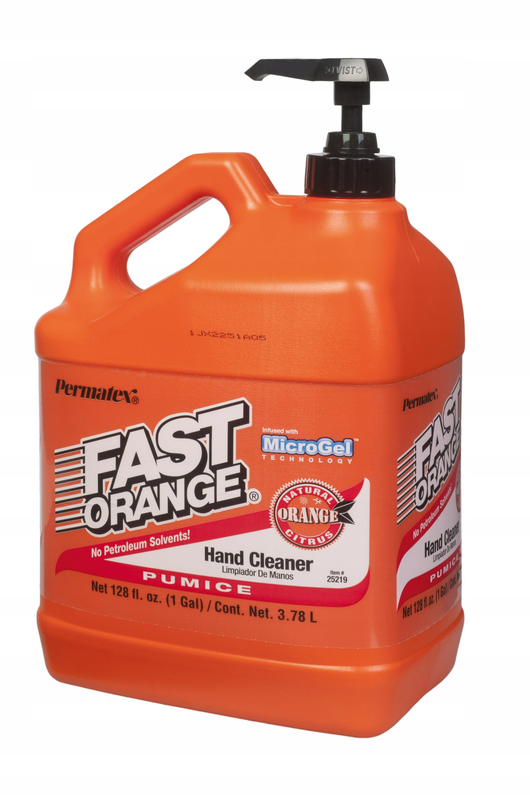 PERMATEX FAST ORANGE PASTE FOR WASHING HAND OHS 3.78л