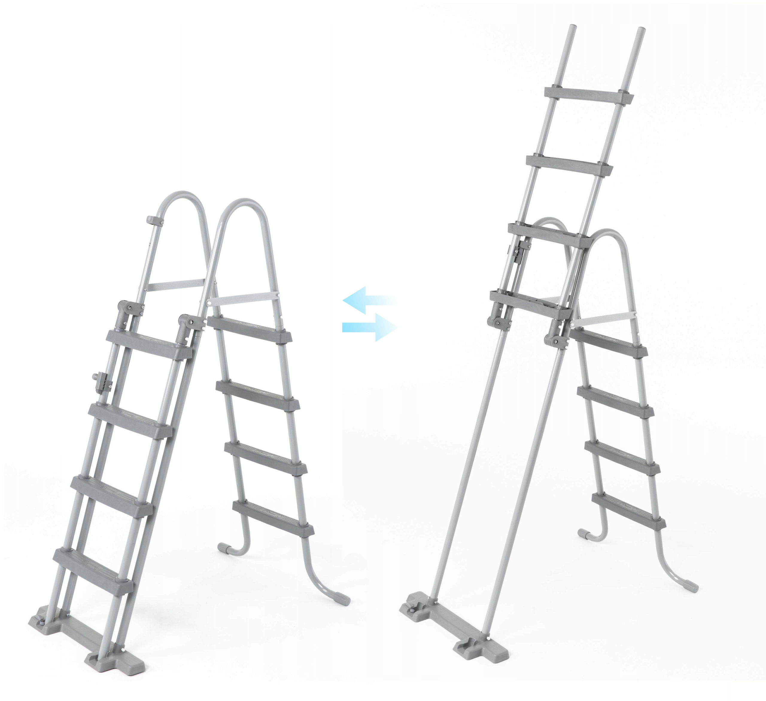 Bezpieczna DRABINKA DO BASENÓW 122cm BESTWAY 58331 Wysokość 122 cm