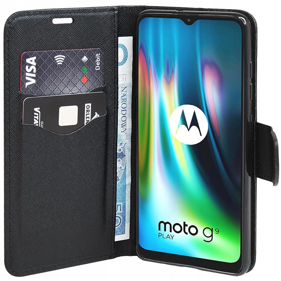 Etui do Motorola Moto G9 Play Fancy Case + SZKŁO Dedykowany model Motorola Moto G9 Play