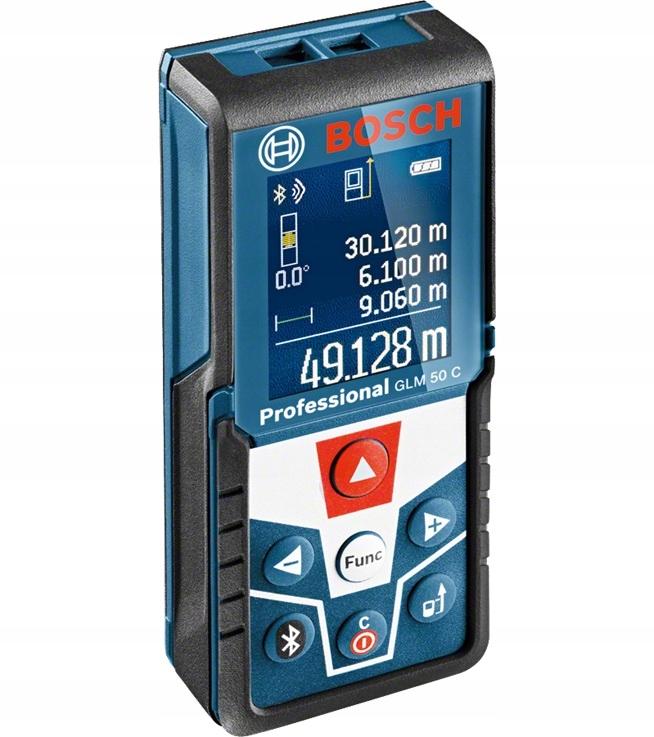 Dalmierz laserowy Bosch GLM 50 C z bluetooth 06010