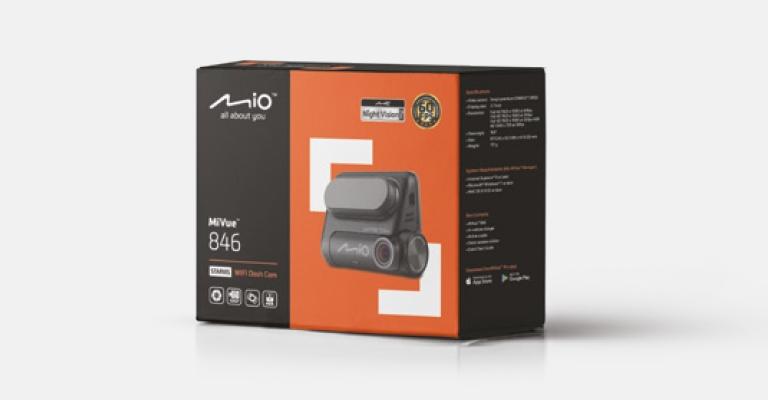 "MIO MIVUE 846 WiFi KAMERA STARVIS 60kl/s GPS HDR Przekątna ekranu 2.7"""