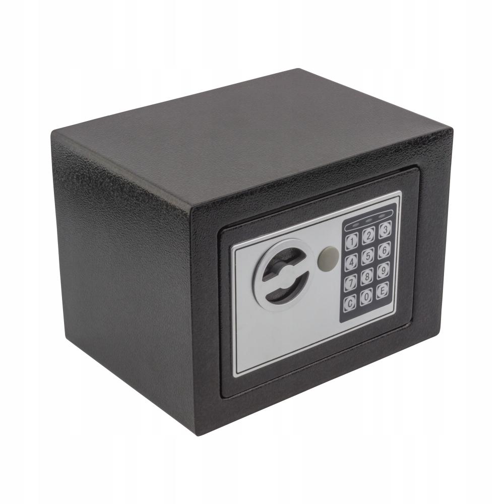 Sejf kasetka na zamek elektroniczny cyfrowy EDL 17