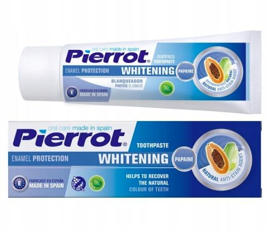 Паста для отбеливания зубов Pierrot