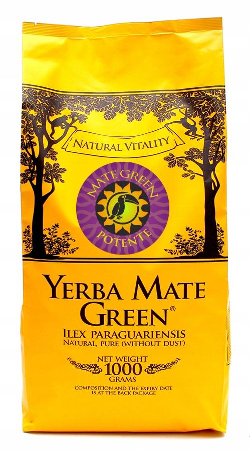 Yerba Mate Green Potente - афродизиак 1 кг 1000 г