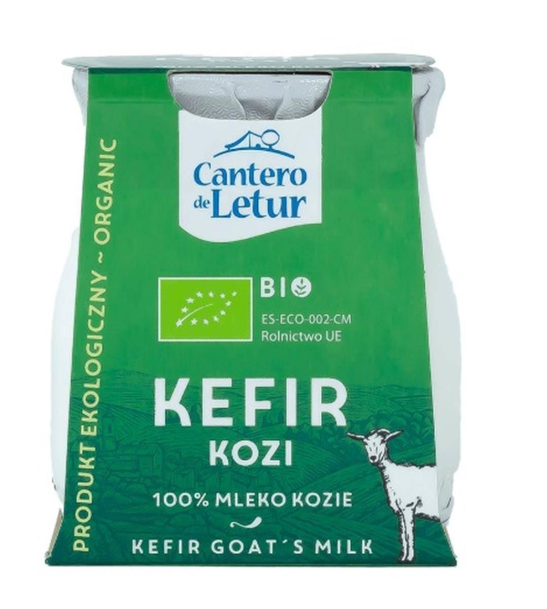 CANTERO DE LETUR Кефир из козьего молока BIO 125 г