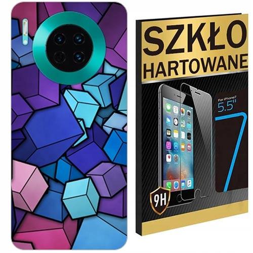 200wzorów Etui+szkło Hartowane Do Huawei Mate 30