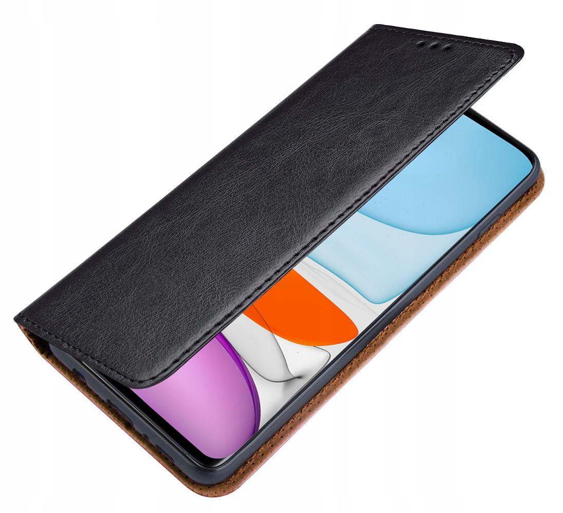 ETUI SKÓRZANE + SZKŁO 9H do Xiaomi Mi 10 Lite 5G Dedykowany model Xiaomi Mi 10 Lite 5G