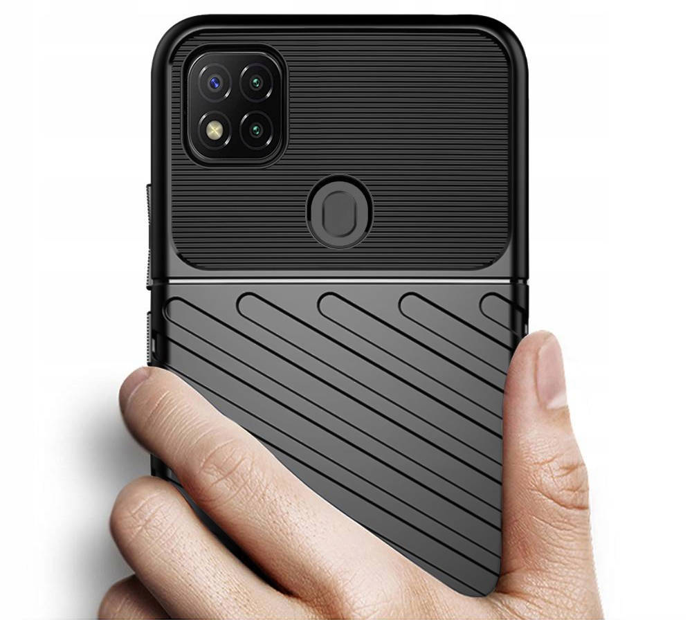 Etui do Xiaomi Redmi 9C Pancerne Case + Szkło 9H Kod producenta P35A