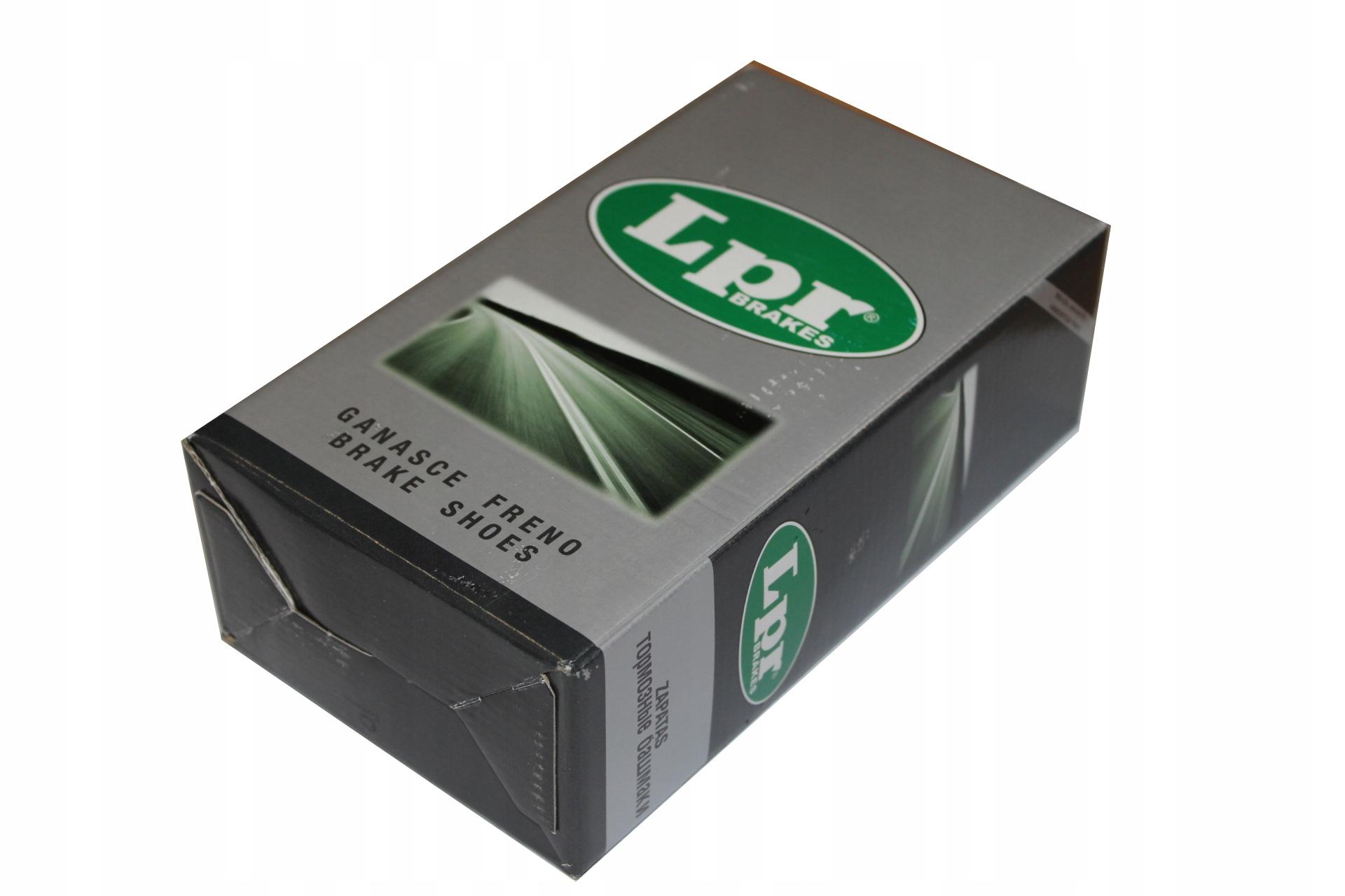 LPR тормозные колодки JEEP CHEROKEE 2,8 CRD 05- /20