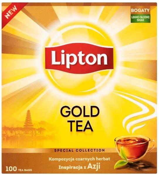 Lipton Gold Tea в экспрессе 100 торр
