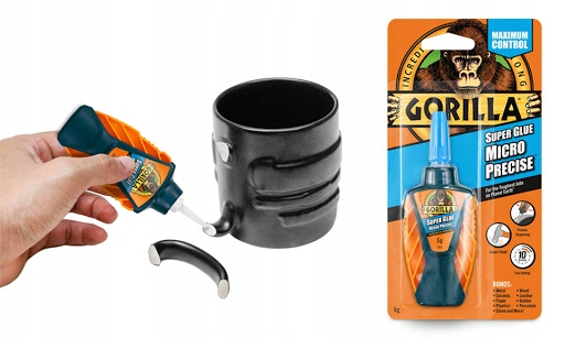 Клей GORILLA для металлического пластика стекла супер сильный бренд Gorilla Glue