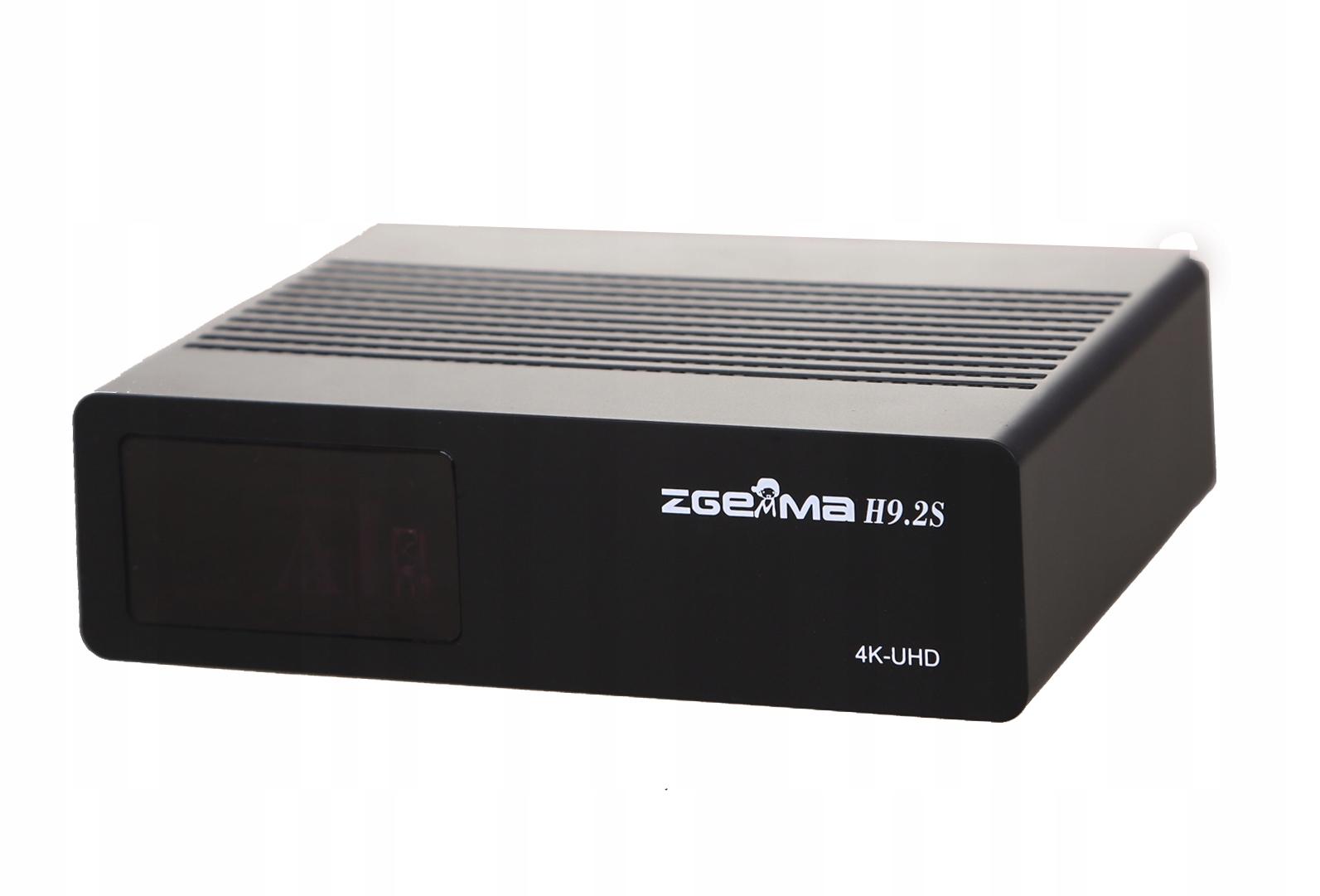 ZGEMMA H9.2S 4K ENIGMA2 Cccam Iptv Oscam Waga produktu z opakowaniem jednostkowym 3 kg