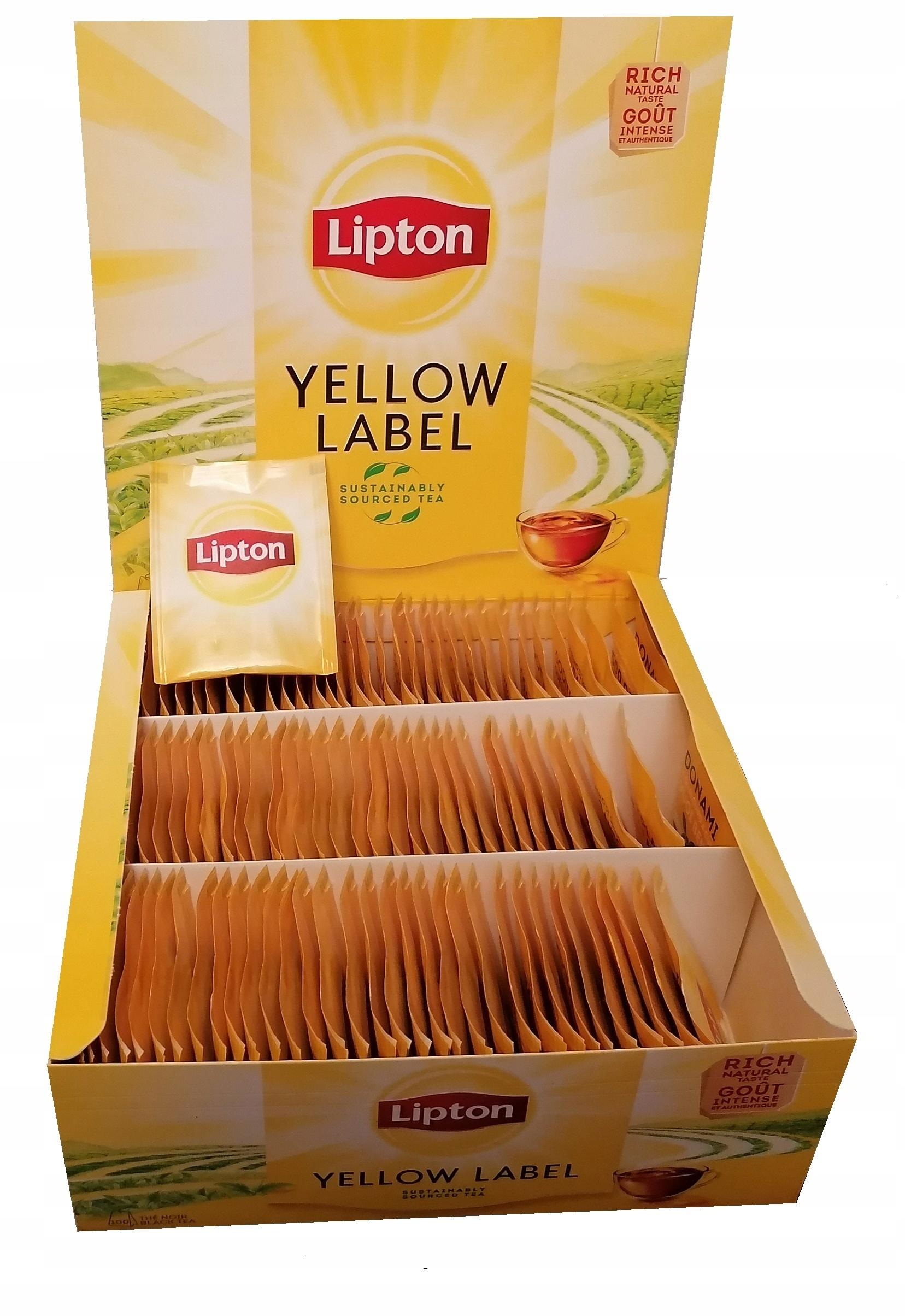 Чай LIPTON 100 KOPERT в пакетиках