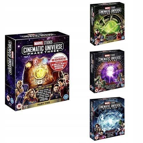 Item Marvel Universe [28 Blu-ray] Phase 1-3 / Phase 1-3
