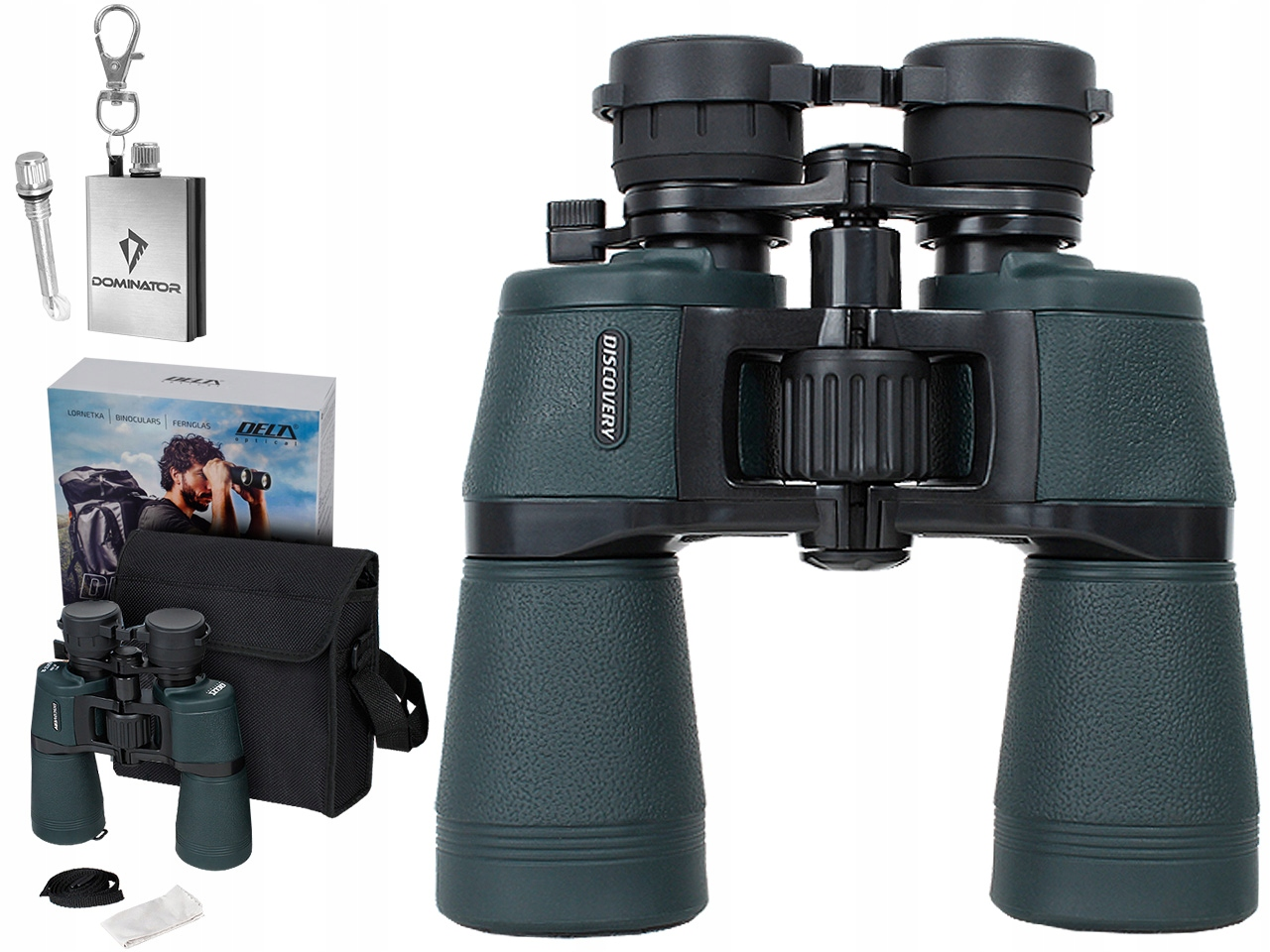 Delta Optical Lornetka DISCOVERY 10-22x50 ZOOM