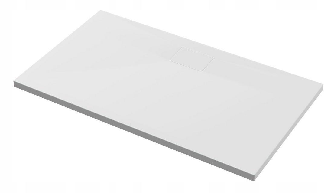 VYNIKAJÚCE Nula zásobník akryl obdĺžnikový 120x80