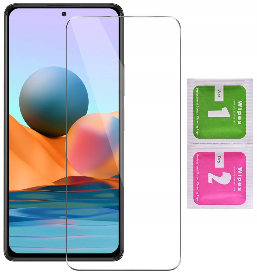 Szkło Hartowane 9H do Xiaomi Redmi Note 10 Pro