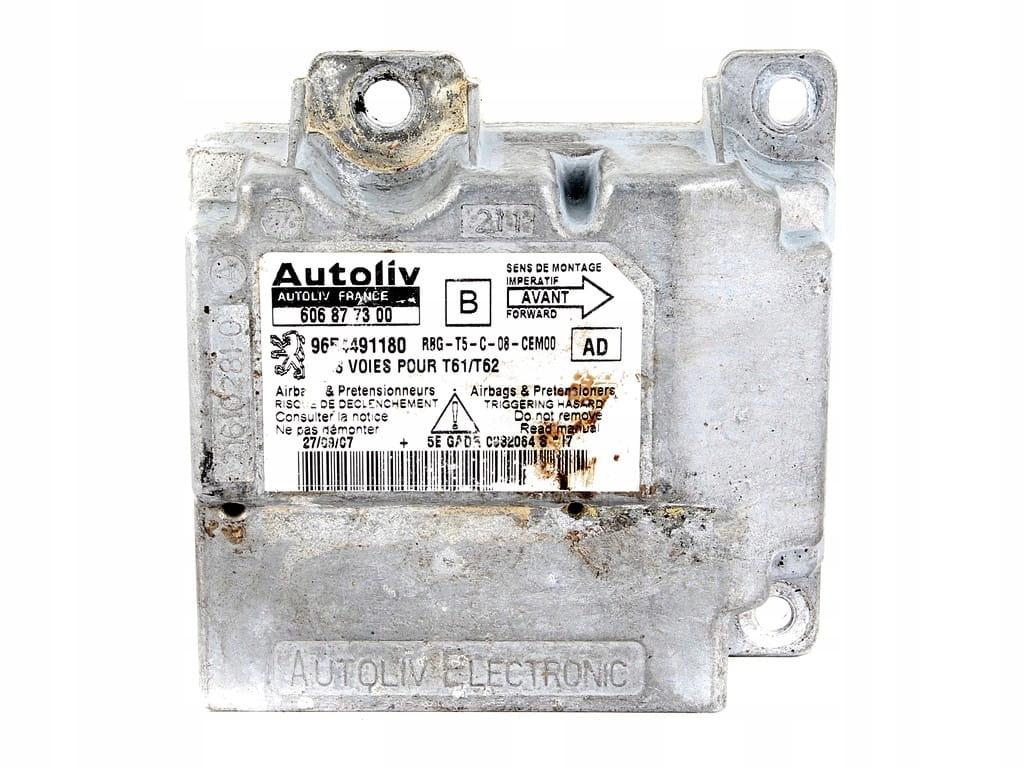 модуль сенсор подушек airbag peugeot 307 01-08 r