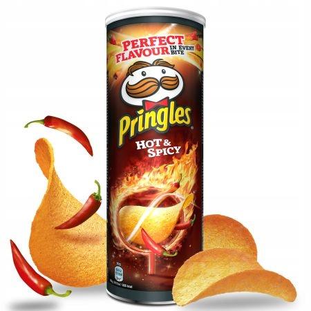 Pringles Hot & Spicy 165 g