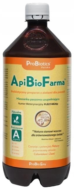 ApiBioFarma ProBiotics Probiotyk dla Pszczół 1L