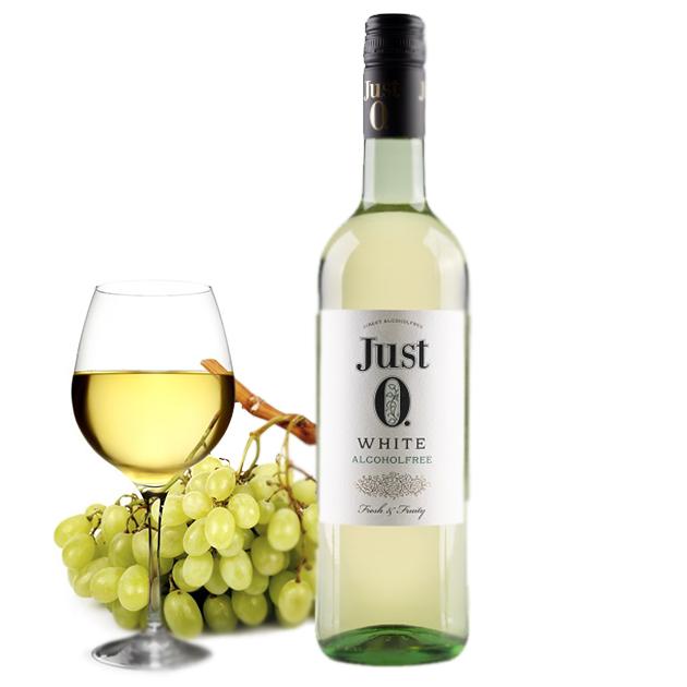 ПРОСТО 0 безалкогольное вино 0% полусладкое белое