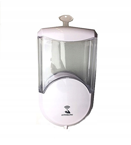 Nástenný automatický dávkovač mydla a tekutín 600 ml