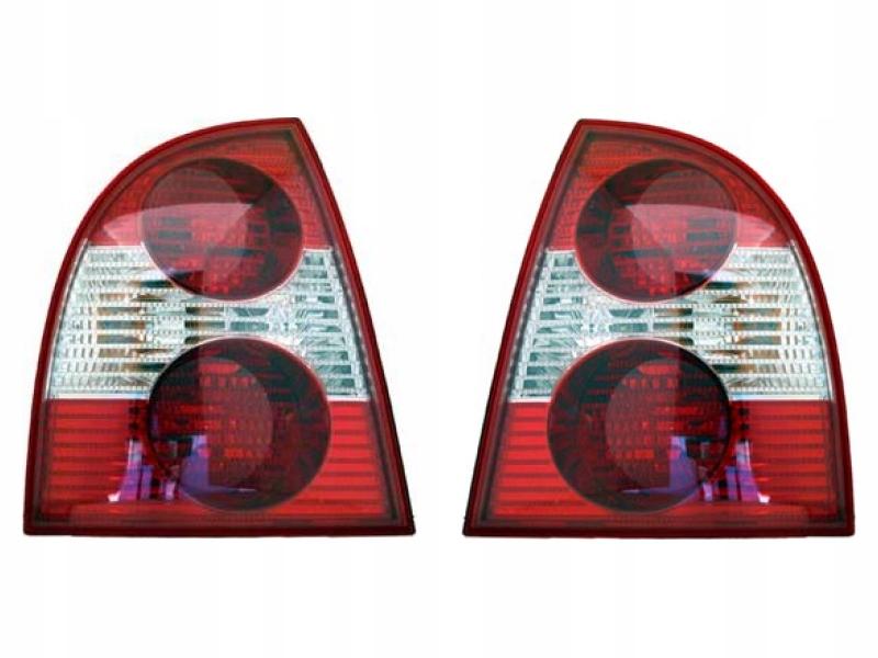 лампы сзади задние vw passat b5 fl 00-05 седан l+p