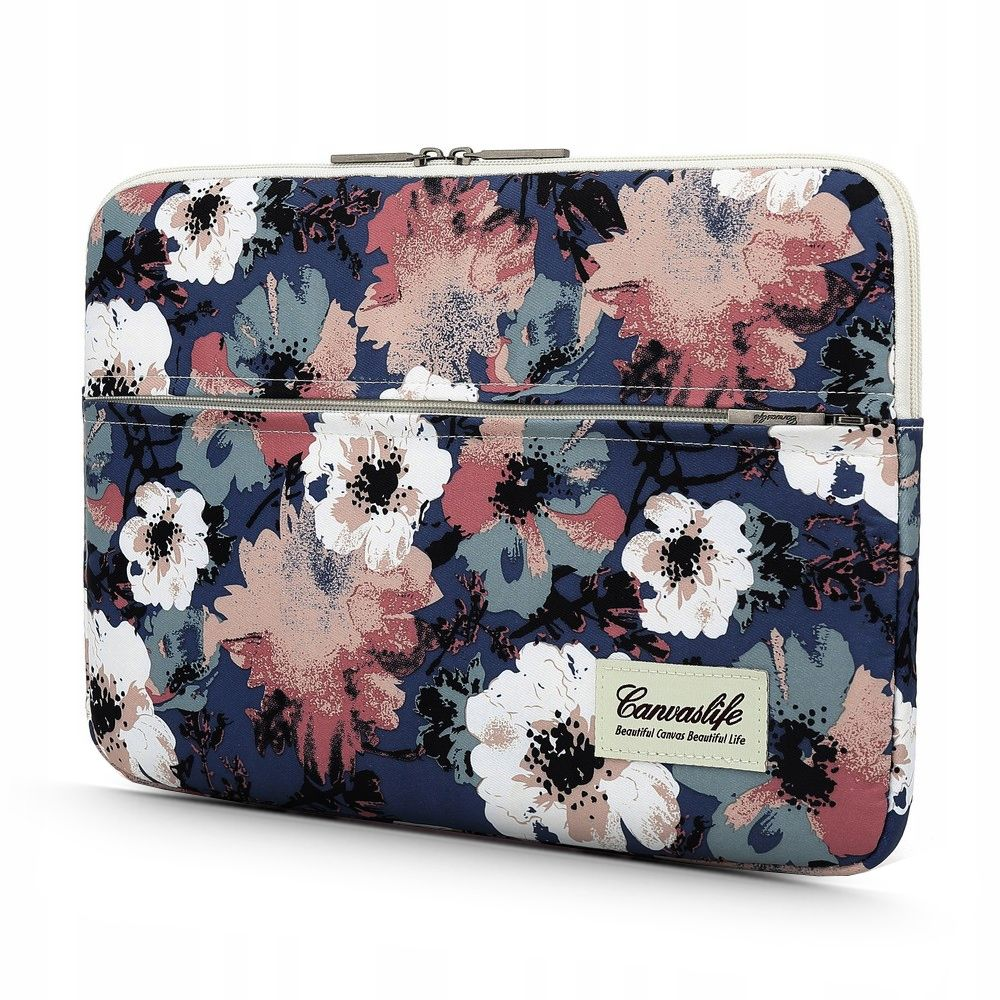 Etui do Laptopa 13 -14 Canvaslife Blue Camellia