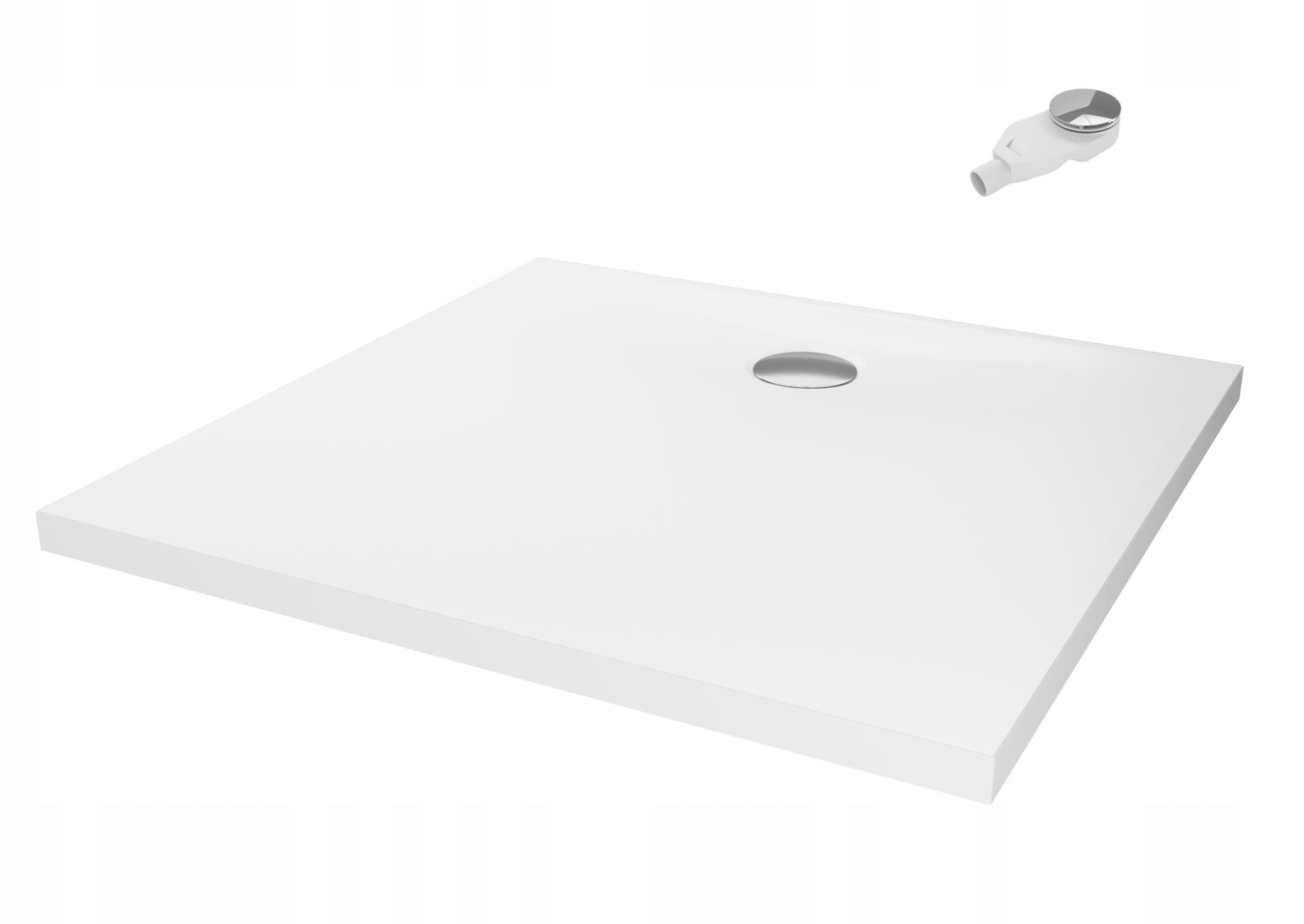 Konglomerátová sprchová vanička NEX 100x80 x3,5 + sifón nt