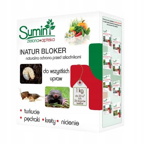 Sumin Natur Bloker 1kg Pędraki Krety Turkuć