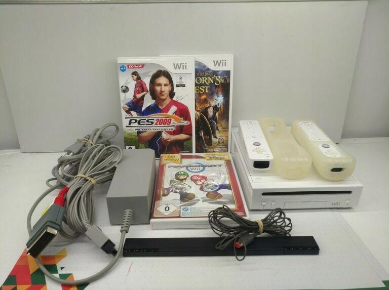 Nintendo Wii RVL-101 + 3 herná konzola