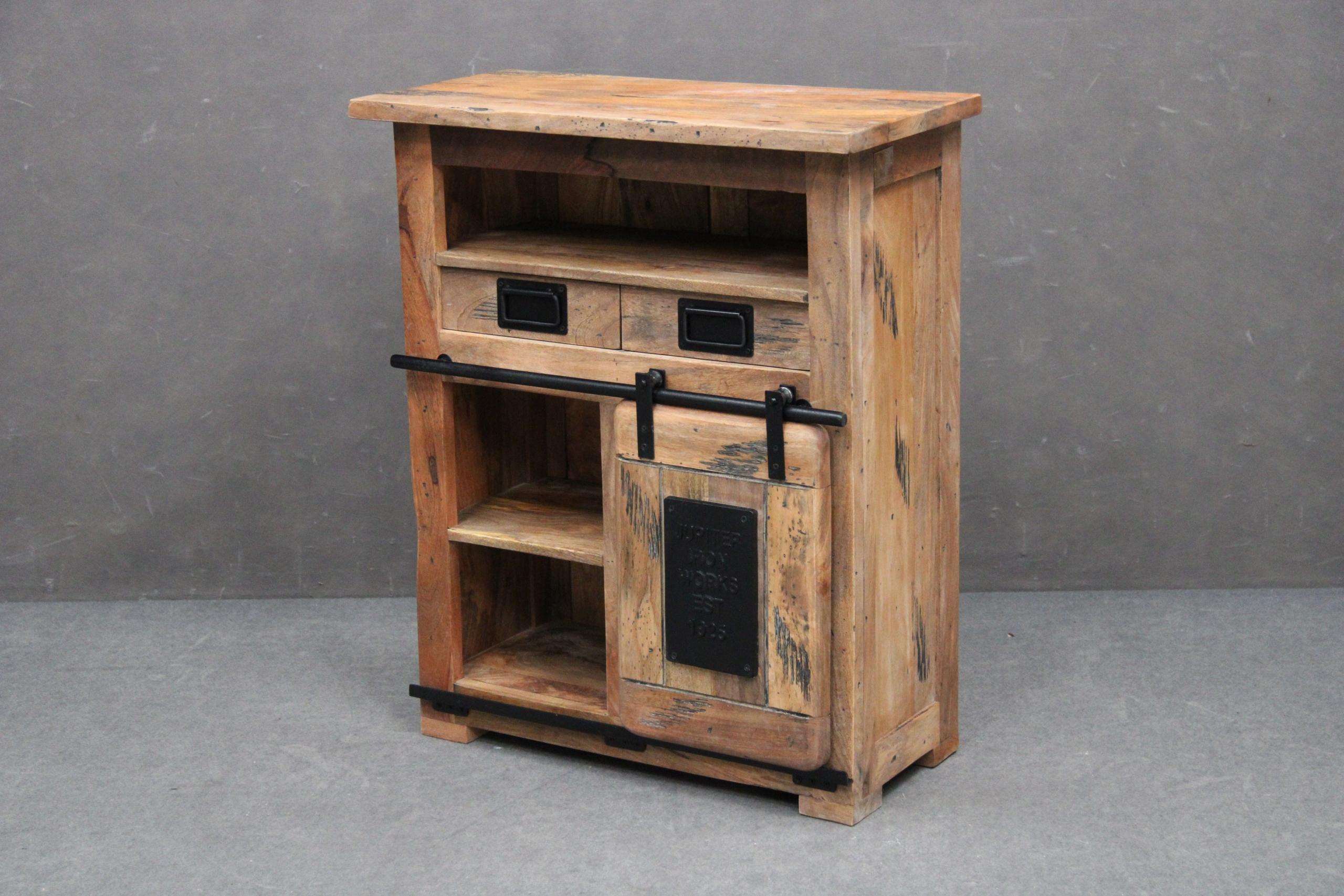 Комод Wooden Cabinet Wood Vintage MANGO LOFT